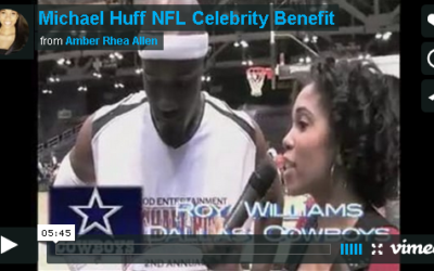 Michael Huff's NFL Celebrity Benefit