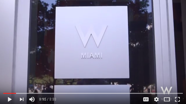 W Miami Pool Party Launch