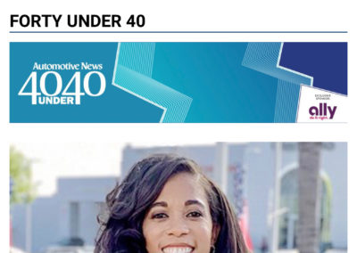 Amber Martin of Martin Automotive Group Named Automotive News' 40 Under 40