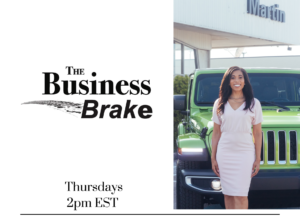 The Business Brake LIVE promo